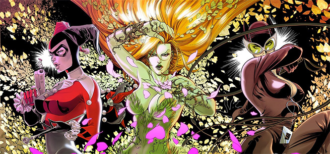 "5 Female Characters May Join Harley Quinn In Confirmed ""Gotham Sirens"" Movie."