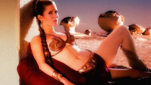 "8 Fun Facts About The Slave Leia Costume In ""Star Wars"""