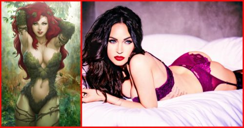 5 Sizzling Shots Of Rumored Poison Ivy – Megan Fox  From New Photoshoot Is Going To Make Fan Boys Crazy!