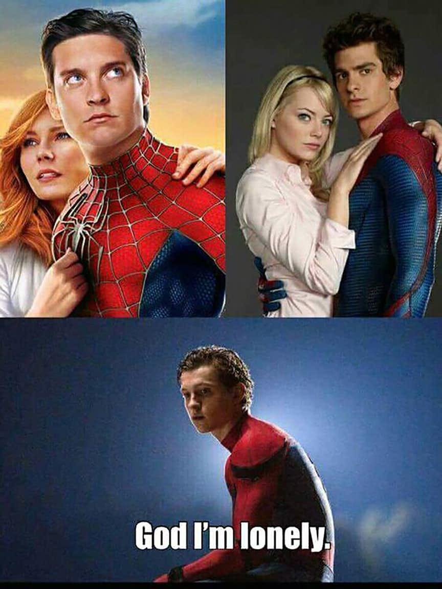 Spider Man , Spider – Men: 24 Funny Spider-Man Actor Memes ...