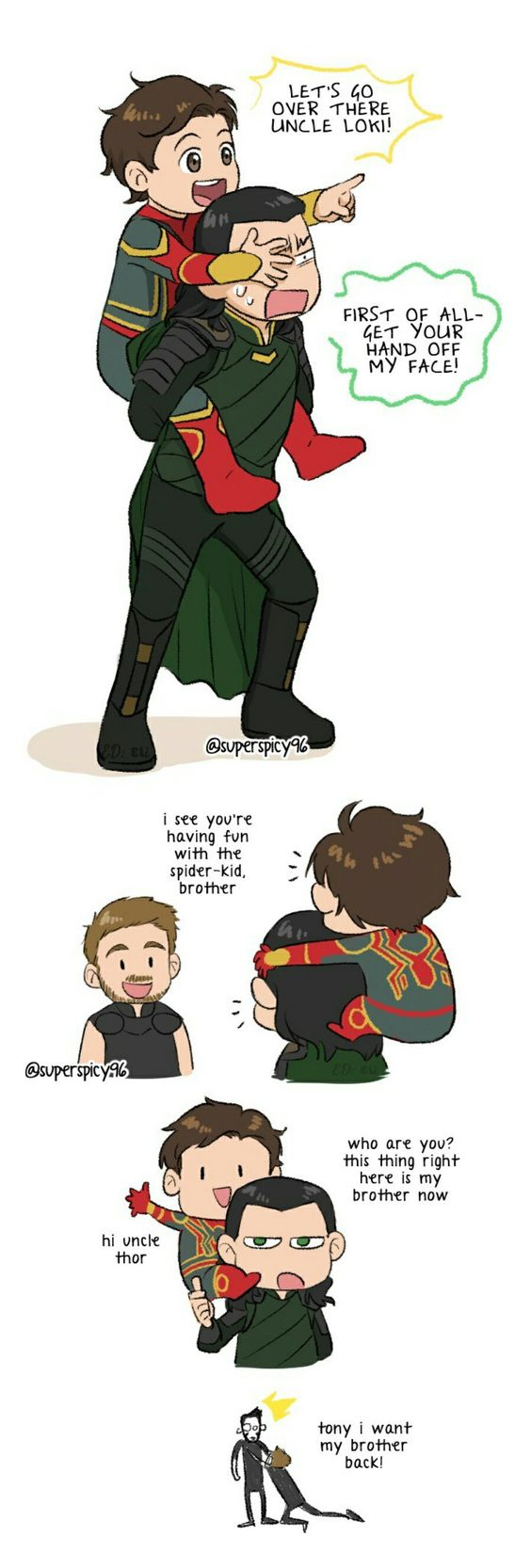 Avengers Fanfiction Loki X Tony
