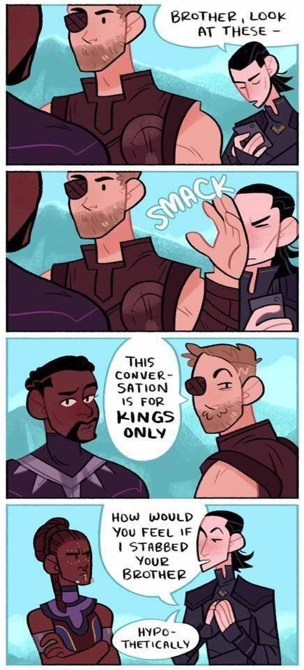 Funny Pictures Of The Day - 75 Pics |Funny Thor And Loki Text