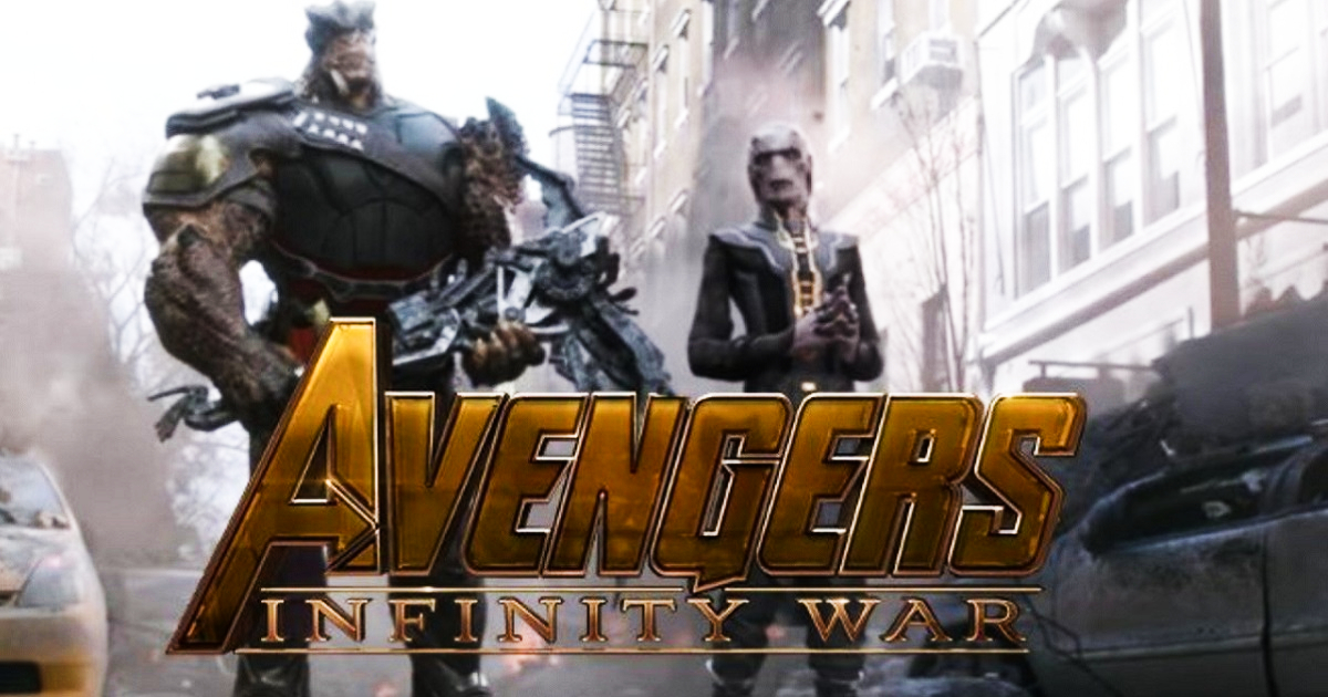 avengers: infinity war – check out this new and hilarious ebony maw
