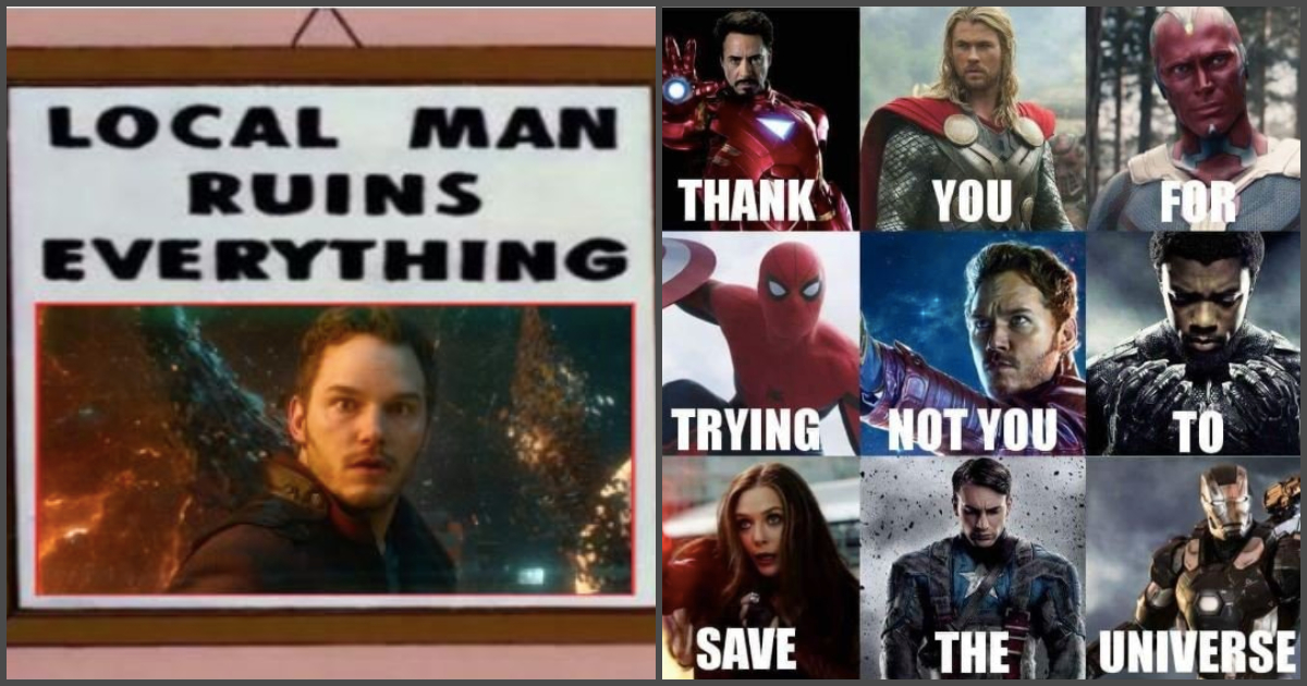 Here Is How The Memes React To The Mega Star Lord Blunder In