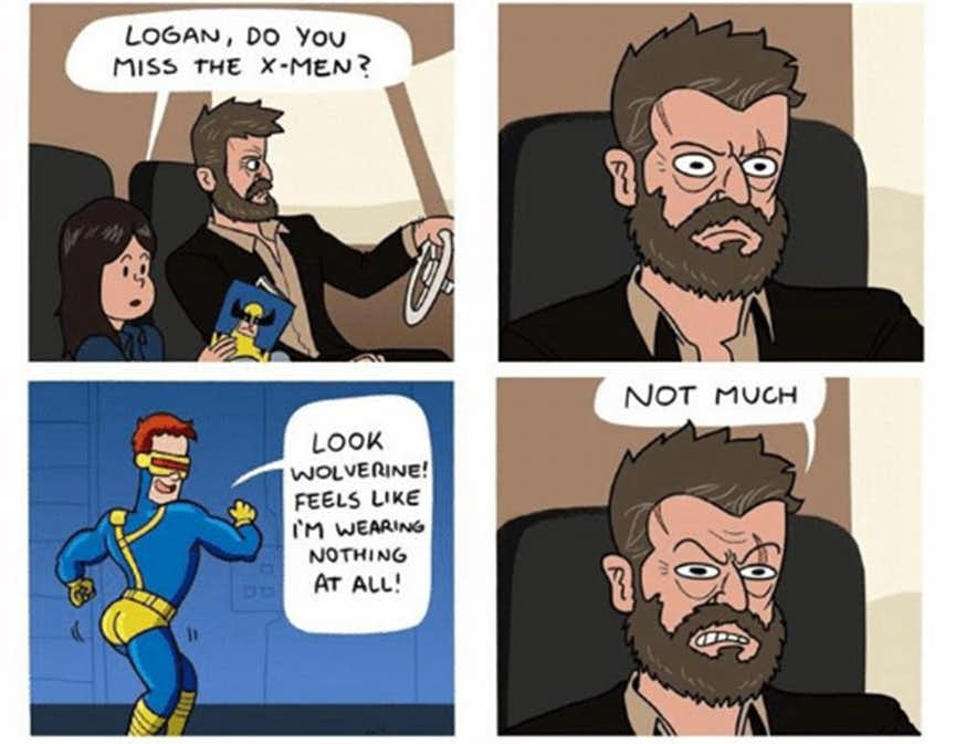 Wolverine meme
