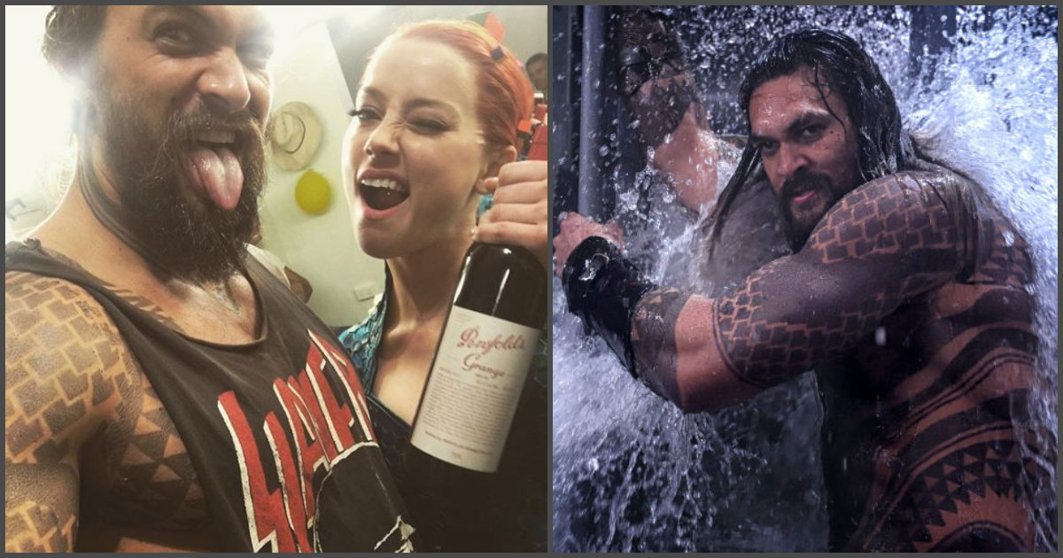 4db6c89149ded Aquaman has completed filming and is now in post-production stage. Sometime  back, the star of the movie Jason Momoa took time to reflect upon the  production ...