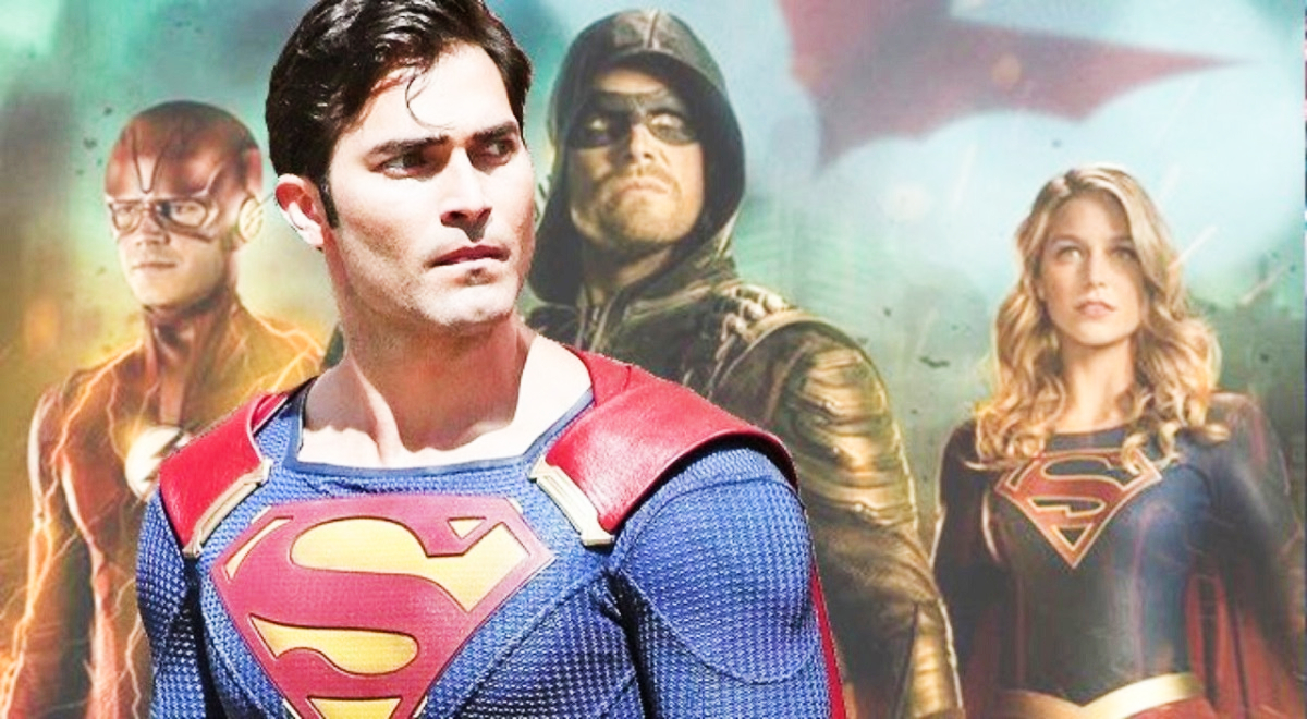 upcoming arrowverse crossover to welcome superman and spoiler