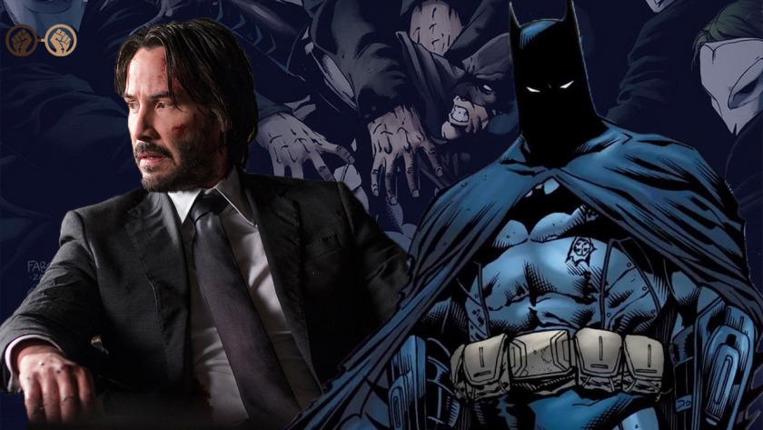 KEANU REEVES As Batman