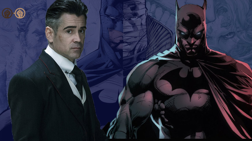 COLIN FARRELL As Batman