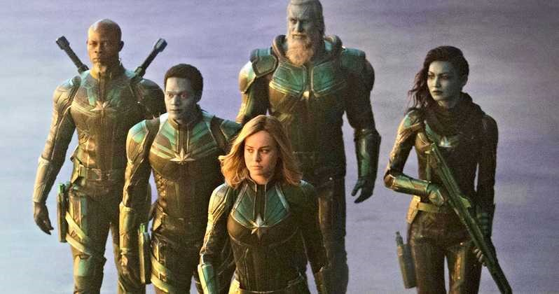 Captain Marvel The Secret Invasion Is Coming To The Marvel