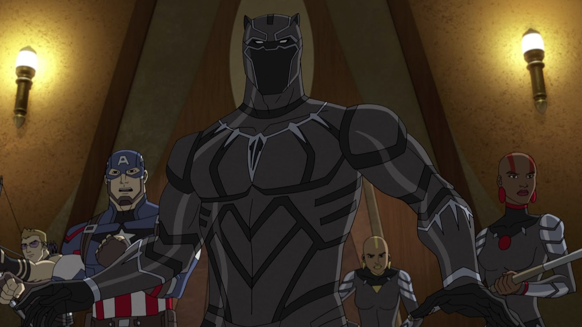 Check Out This Cool First Trailer For Disney XD's Avengers ...