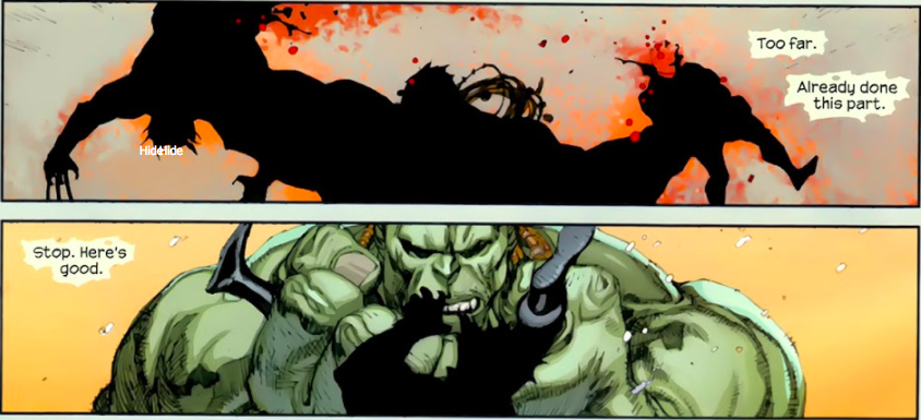 the day when hulk tore wolverine into two and here is how it happened