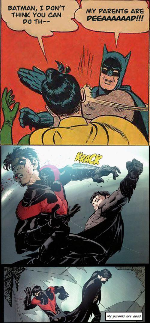 35 Epic Batman Slapping Robin Memes That Only True Fans ...