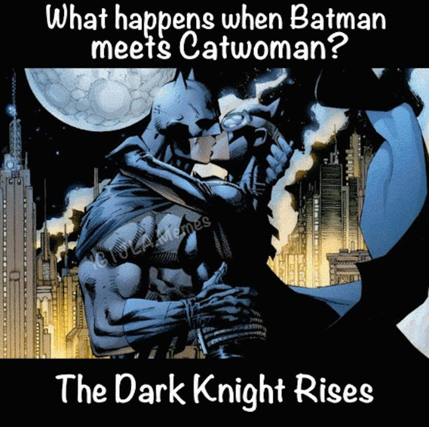 batman memes catwoman knight dark funniest super friends rises funny laugh coffee laughing epic geeksoncoffee