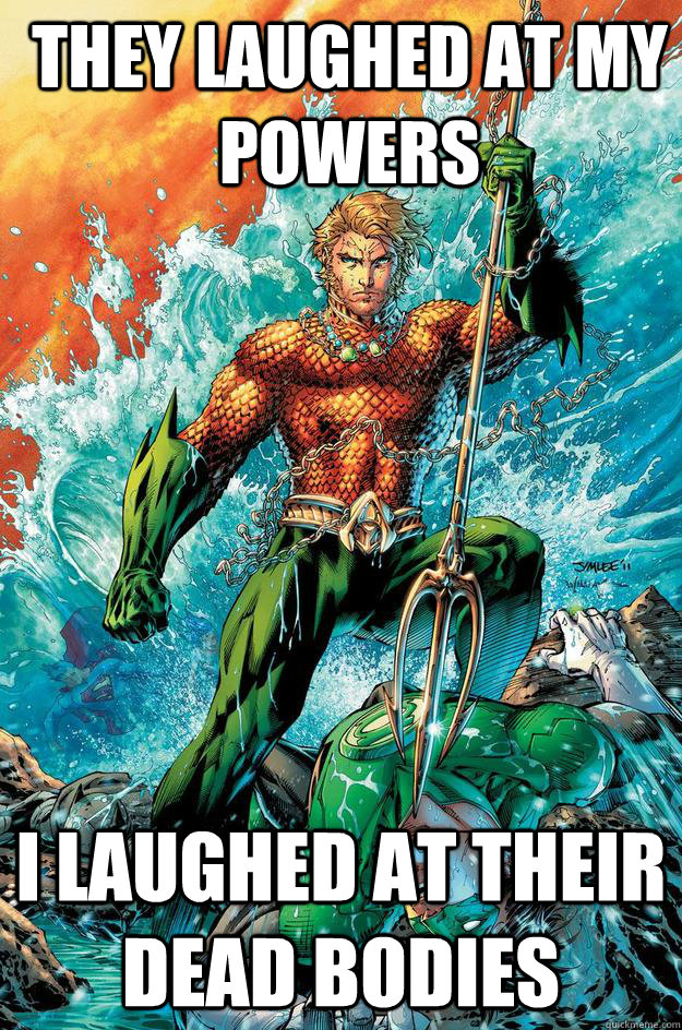 42 Epic Aquaman Memes That Only The Real Fans Will