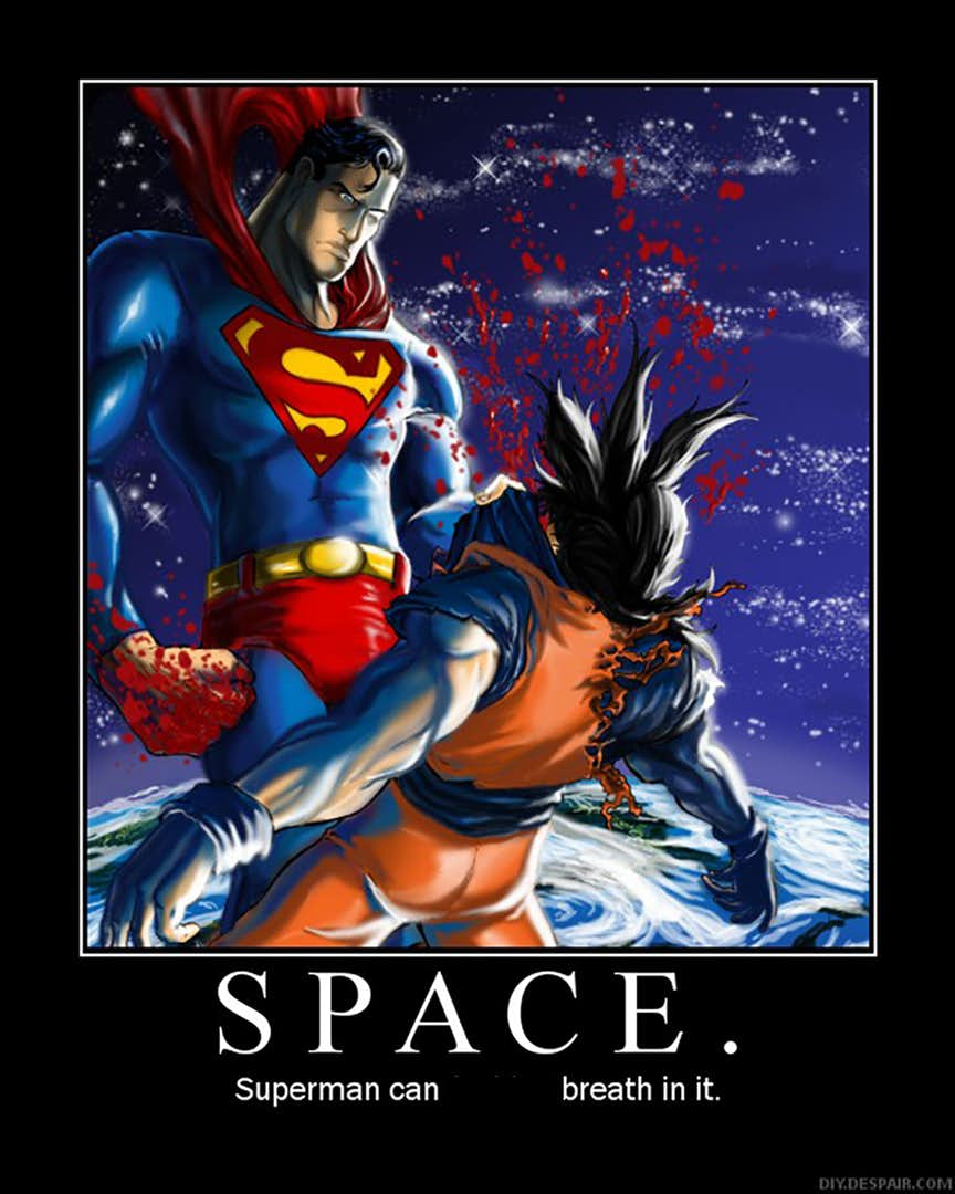30 Epic Goku Vs Superman Memes That Will Make You Cry With Laughter