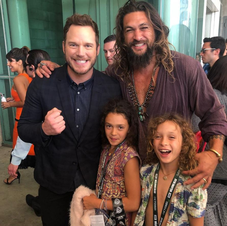 Jason Momoa S Wife Kids And Scar All You Need To Know: 27 Images Of Jason Momoa's Instagram Pictures That All The