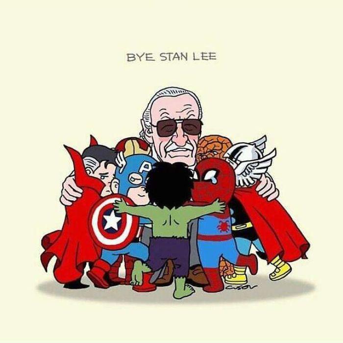 30 Very Emotional Stan Lee Tribute Fan Arts