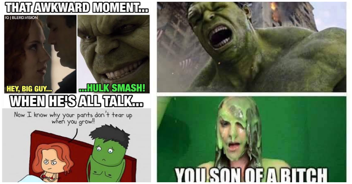 54ed29aa57d0 Epic Hulk memes that will make you laugh uncontrollably. Today, we will  look through a few Hulk memes. These Hulk memes are epic and super hilarious-  Cudos ...