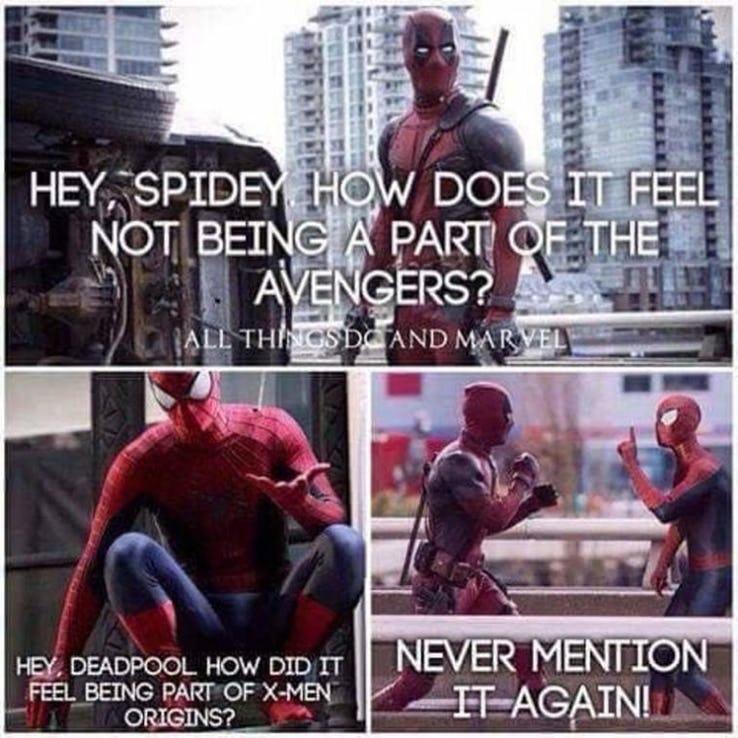 20 Epic X-Men Vs. Deadpool Memes That Only True Fans Will