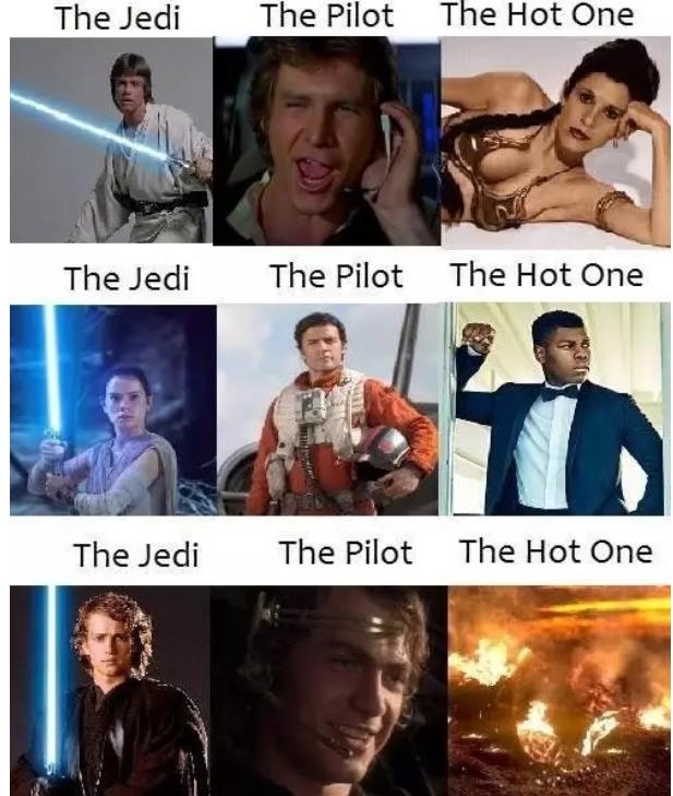 cheerful Star Wars Memes