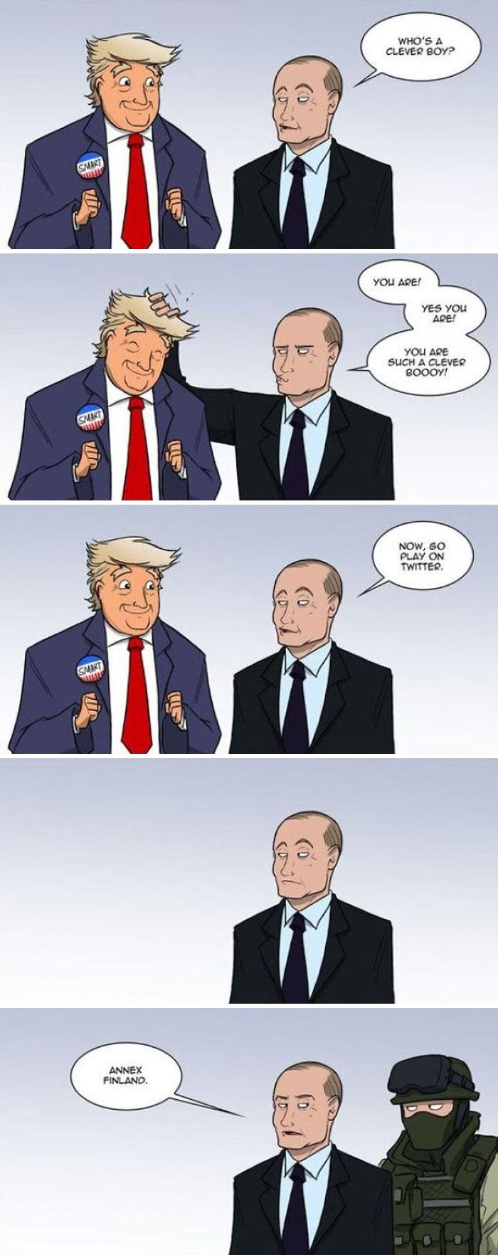 droll, Trump Memes