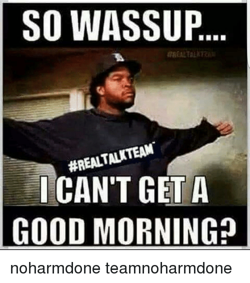 cheerful Good Morning Memes