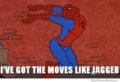 cheerful Spider-Man Memes