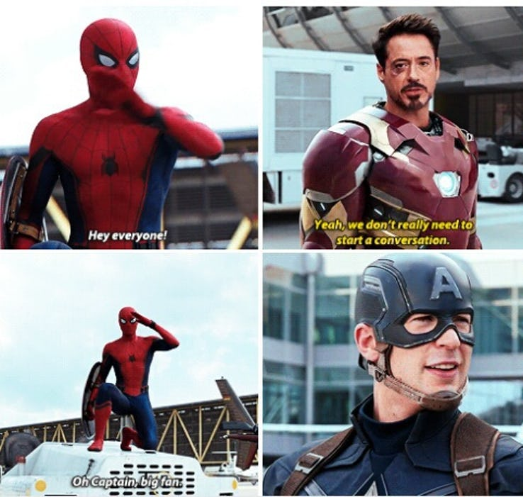 39 Absolutely Hilarious Spider-Man Vs Iron Man Memes Which ...