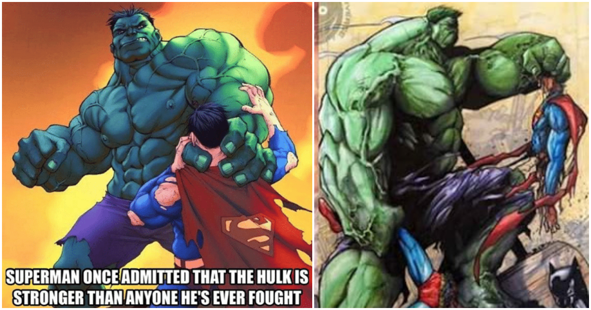 25 Funniest Hulk Vs Superman Memes To Decide Who Wins A Fight GEEKS ON COFFEE