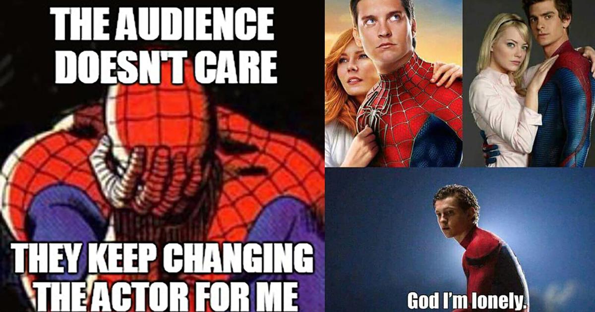 Spider Man Spider Men 24 Funny Spider Man Actor Memes Geeks