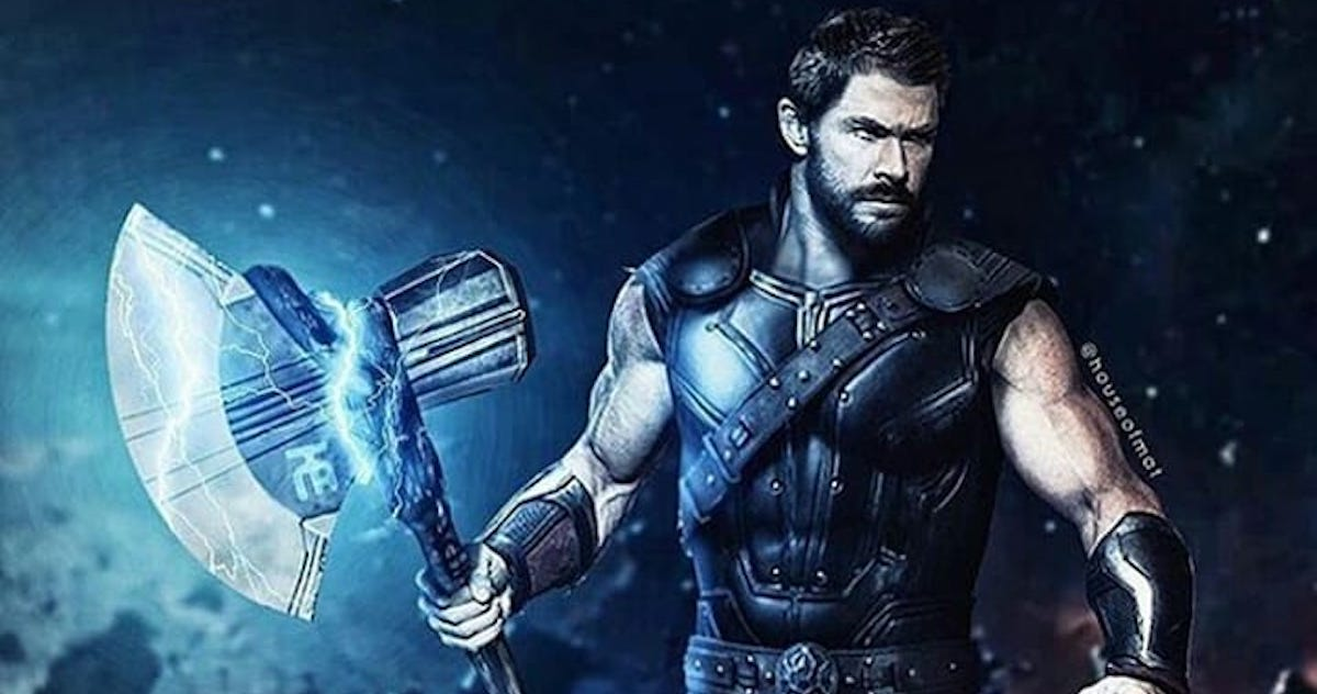 here is all you need to know about thor's new weapon from avengers