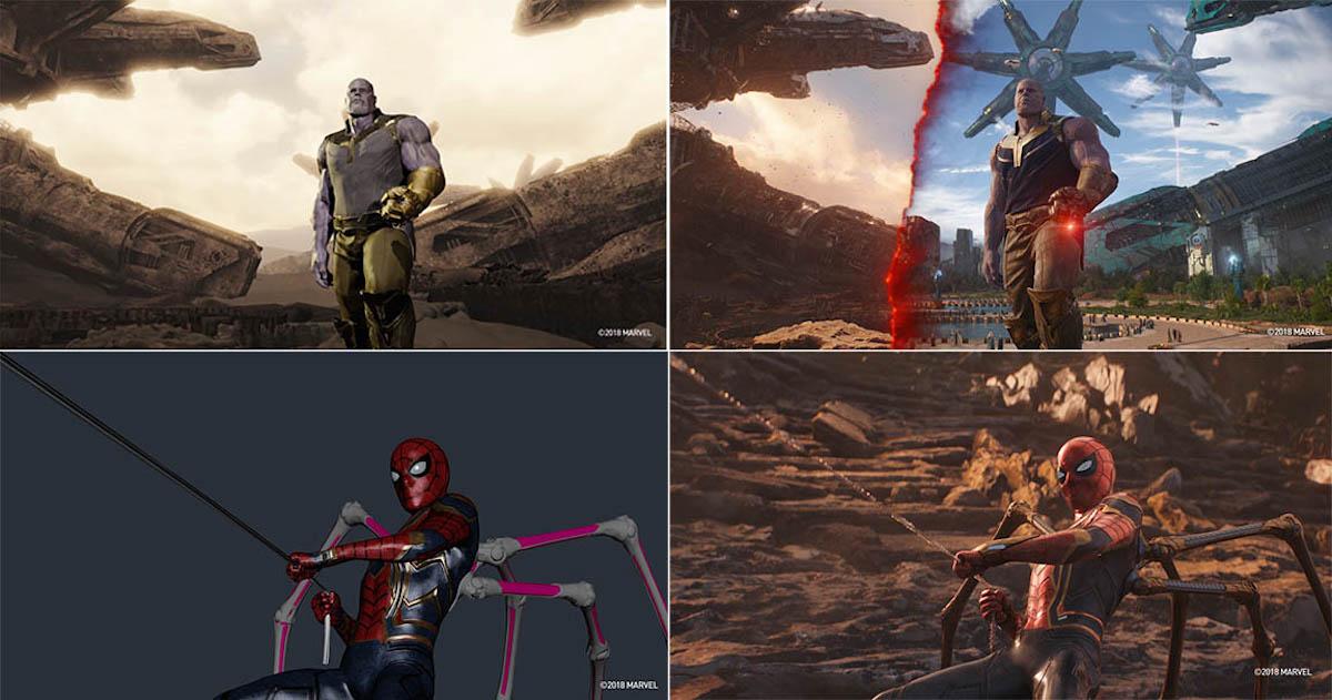 Here Is The Marvellous Avengers: Infinity War VFX Breakdown | GEEKS