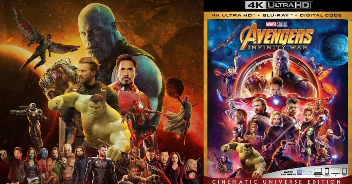 Here Is The Full Avengers: Infinity War Blu-Ray Trailer