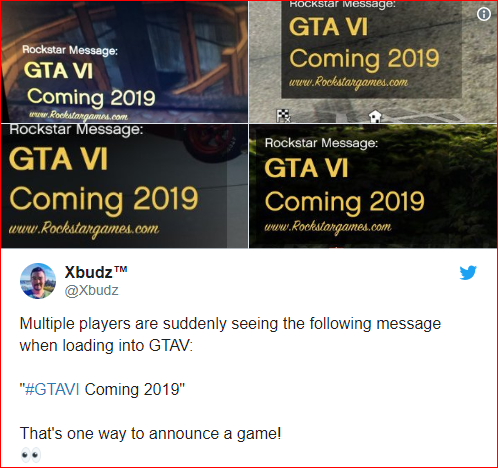 GTA VI Coming Out In 2019: In-Game Alert Claims | GEEKS ON