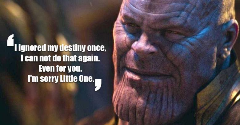 18 Quotes From Mad Titan Thanos Which Will Ensure You Never
