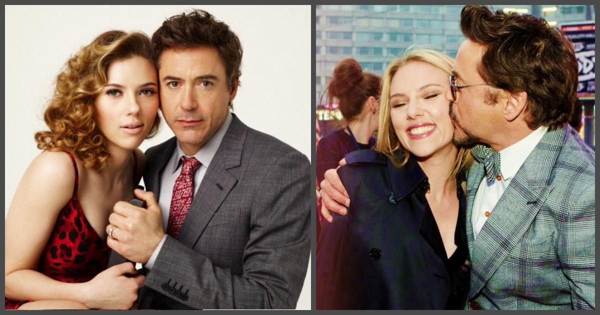 30 Amazing Photos Of Scarlett Johansson With Robert Downey
