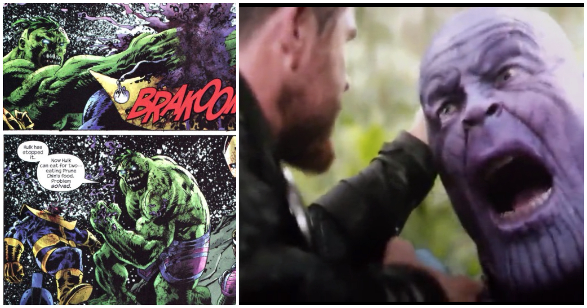 Here Is How The Avengers Defeated Thanos In Comics But Can