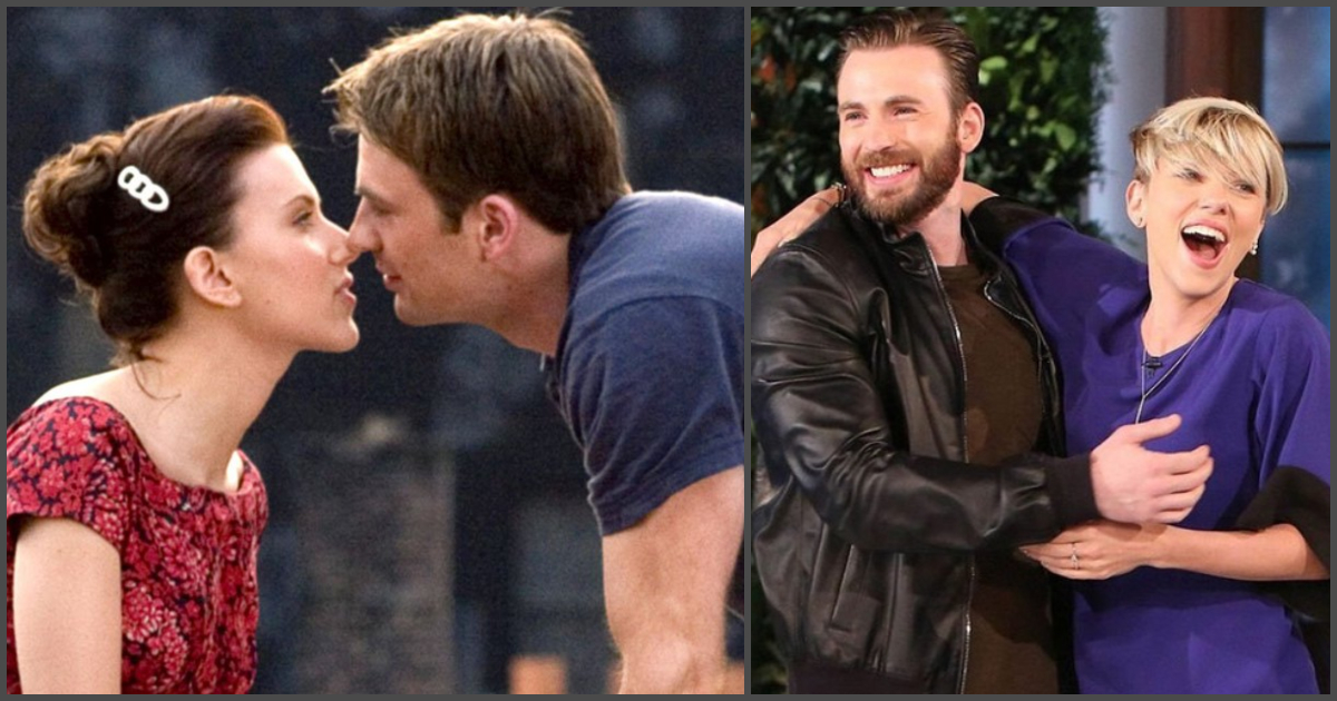 33 Instances When Scarlett Johansson And Chris Evans Showed Us What Perfect Friendship Is Geeks On Coffee