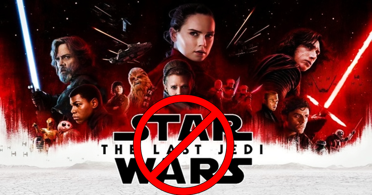 Star Wars The Last Jedi Fan Petition Seeking The Film S Removal From Canon Nearing Its Goal Geeks On Coffee