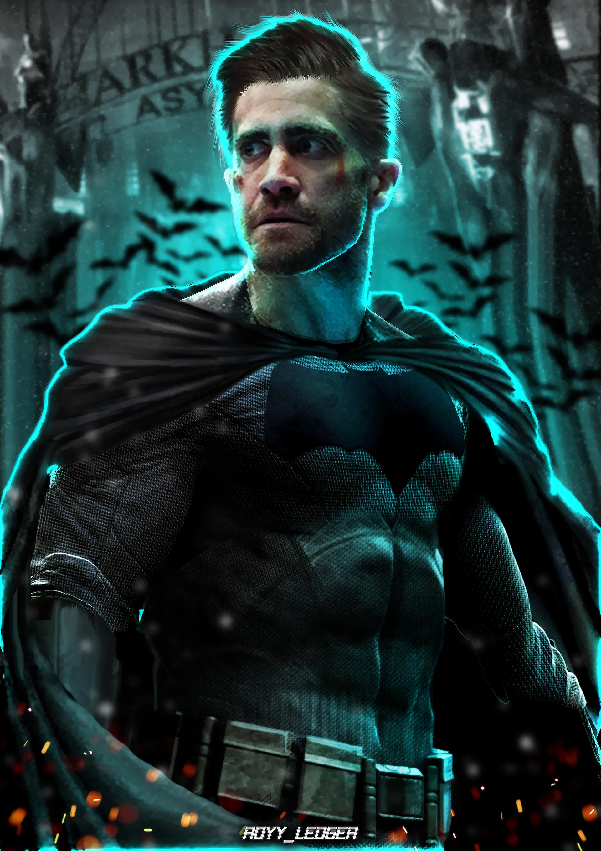 JAKE GYLLENHAALAs Batman