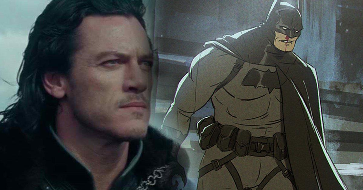 LUKE EVANS As Batman