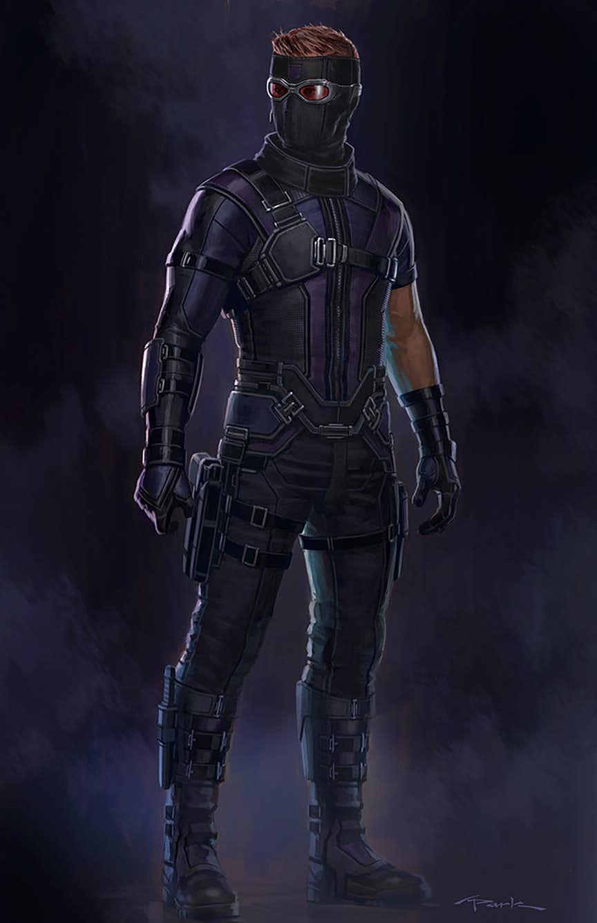 Wolverine Concept Art Mcu