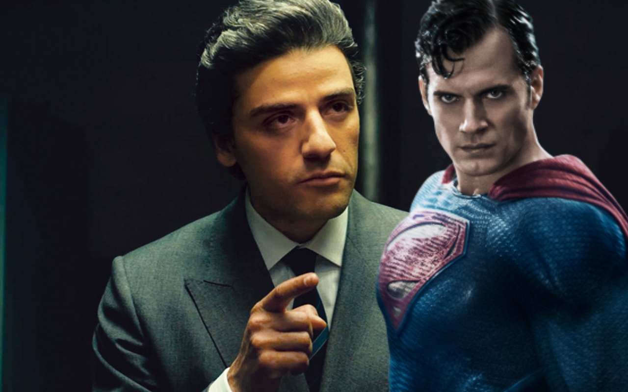 Oscar Isaac As Superman
