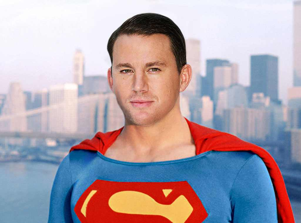 Channing Tatum As Superman