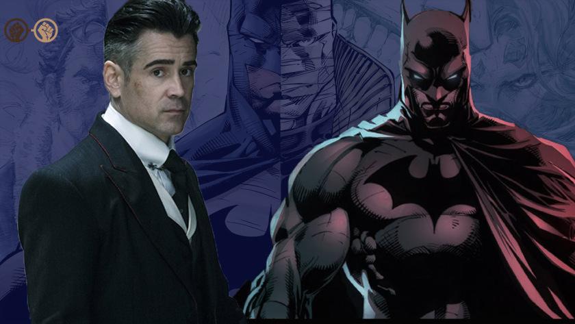 COLIN FARRELL As Batman