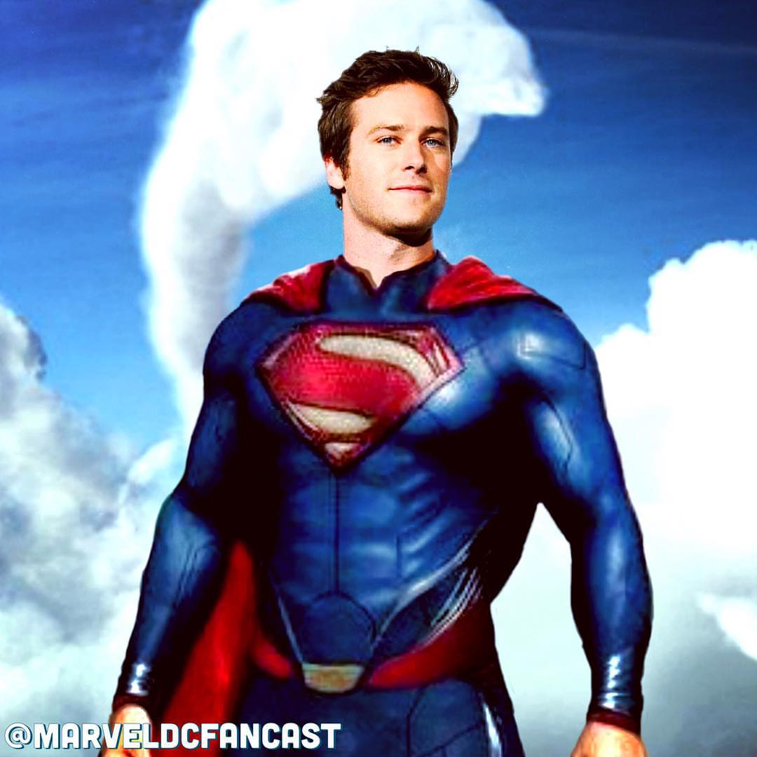 Armie Hammer As Superman