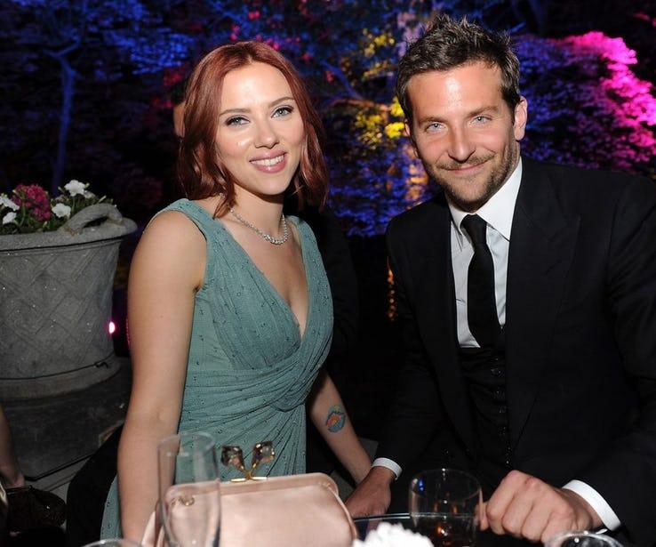 Scarlett Johansson dating Bradley Cooper hastighet dating 2015