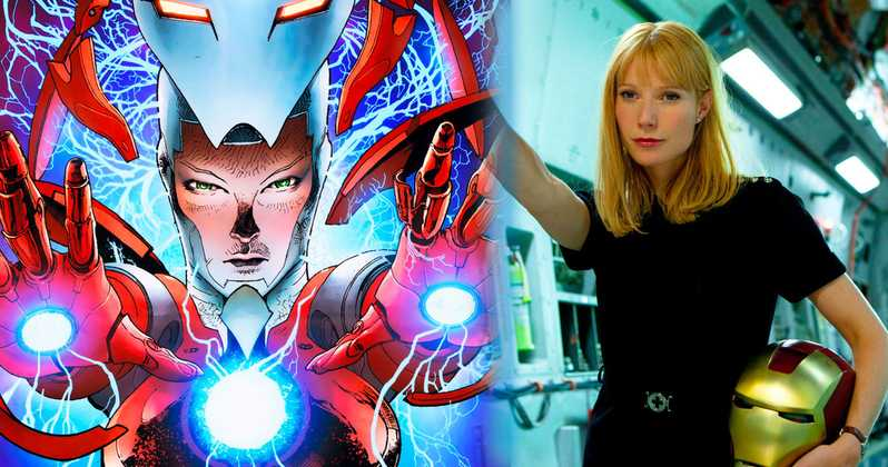Gwyneth Paltrow's Iron man Suit For 'Avengers 4' Has Been