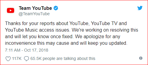 Youtube Is Down And It Is All Thanos' Fault   GEEKS ON COFFEE